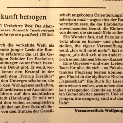 Artikel Süddeutsche Zeitung 1983